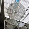 erco Kombinerade solskydd- och akustikgardiner