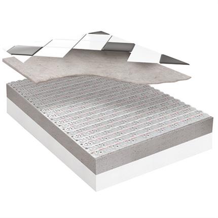 Roth Clima Comfort golvvärmesystem under klinker