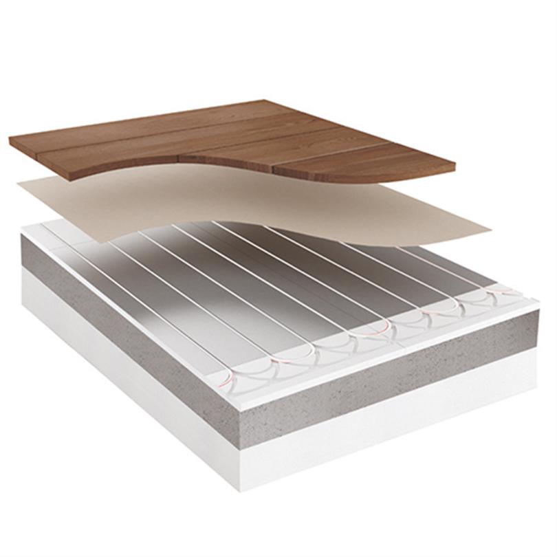 Roth Compact golvvärmesystem under flytande övergolv
