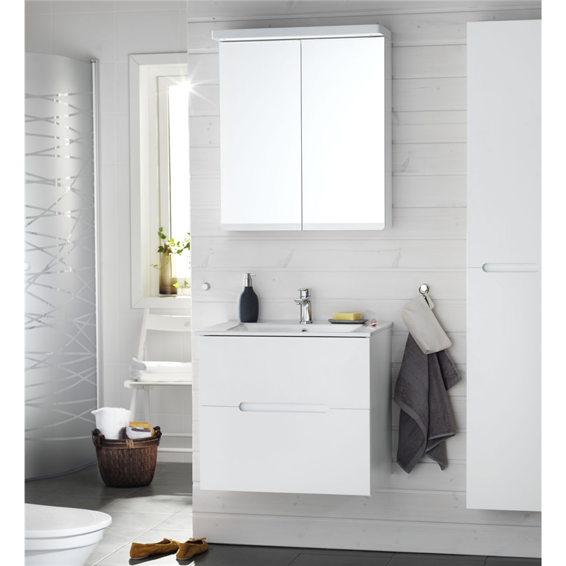 Hafa badrumsmöbler Sun 600 med spegelskåp