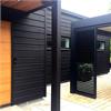 Caparol Intact Solid akrylatfärg, Svart hus