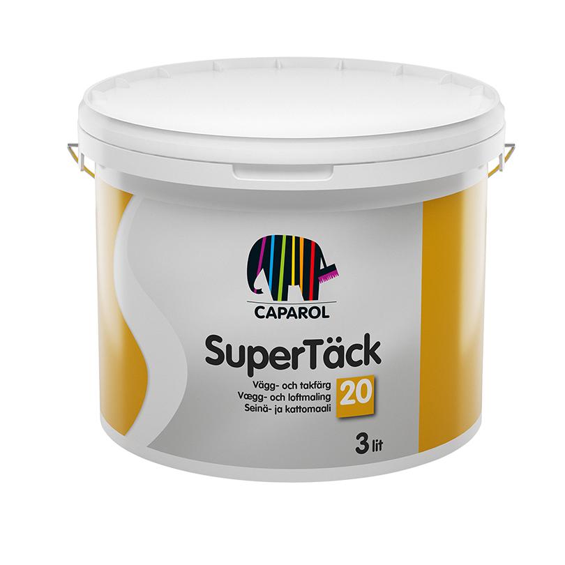 Caparol Supertäck 20 tak- och väggfärg
