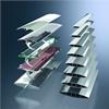 Schüco ALB - Rörliga solskyddslameller med dolda motorer