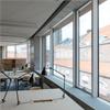 Schüco AWS 114.SG, invändigt, Arkitekturskolan, Stockholm