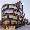 Schüco AWS 114.SG fasadfönster, Arkitekturskolan, Stockholm