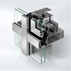Schüco fasadsystem FW 50+ för fasader och glastak på uterum och vinterträdgårdar