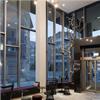 Schüco FWS 50+ SG glasfasader, Kust Hotell