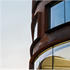 Schüco AWS 114.SG, välvda fasadfönster, Arkitekturskolan