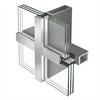 Schüco VISS Ixtra fasadsystem av stål