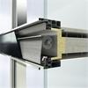 Solskydd CTB integrerad i fasadsystem SFC 85