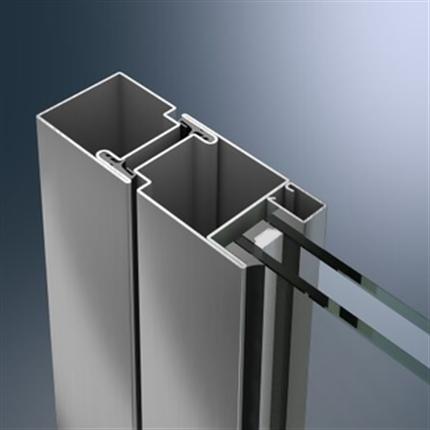 Schüco dörrsystem av stål