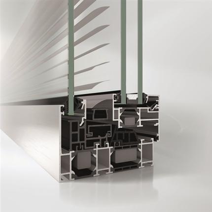 Schüco AWS fönstersystem av aluminium