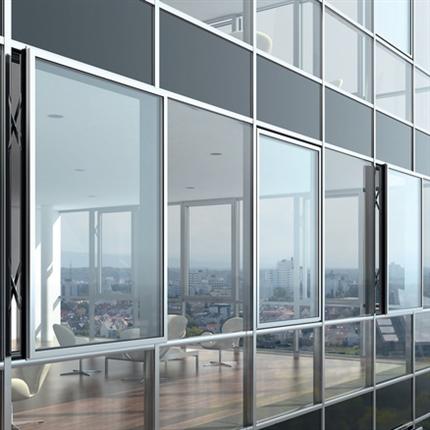 Schüco AWS 114 fasadfönster