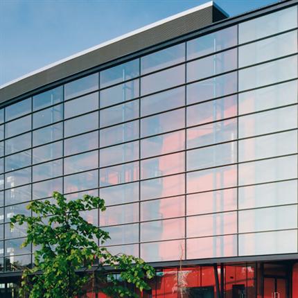 Schüco fasadsystem av stål - Jansen VISS
