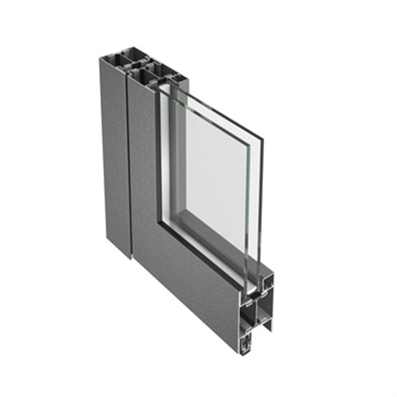Schüco Jansen Janisol isolerat dörrsystem av stål