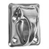 Kulturbeslag Skåpregel 5181U Rostfritt stål