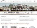 Skruv och spik på webbplats