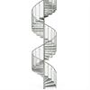 Vytab Standard spiraltrappa med enkelt, vfz räcke