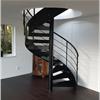 Vytab Spiraltrappa i inomhusmiljö, målad