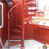 Vytab Standard Spiraltrappa, pulverlackerad röd