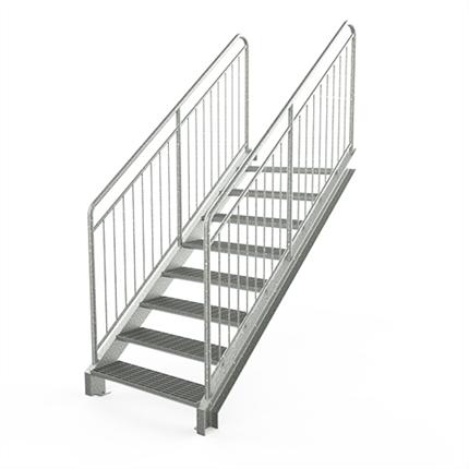 Vytab Standard rak trappa med barnsäkert räcke