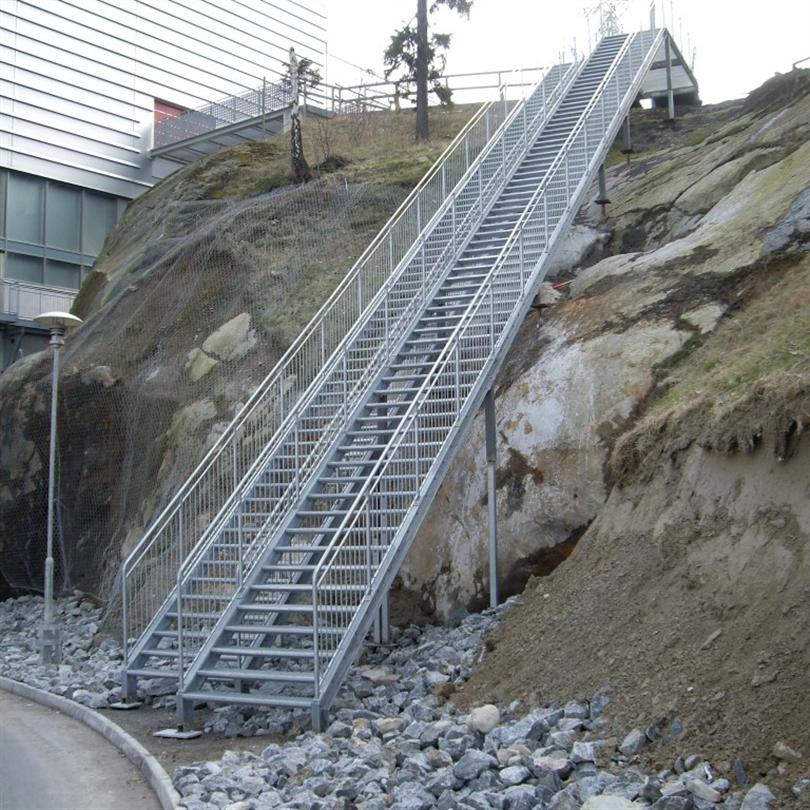 Vytab trappor och räcken, Heron City, Stockholm