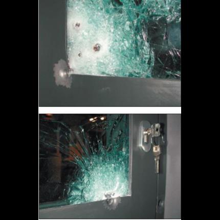 Stålprofil SP 58000 inbrottsskyddande partier