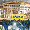 Doka SL-1 stamptorn, tunnlar