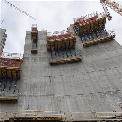 Kranklätterformen för ensidig användning, Dammform, Sarvsfossen projekt, Bykle Norge