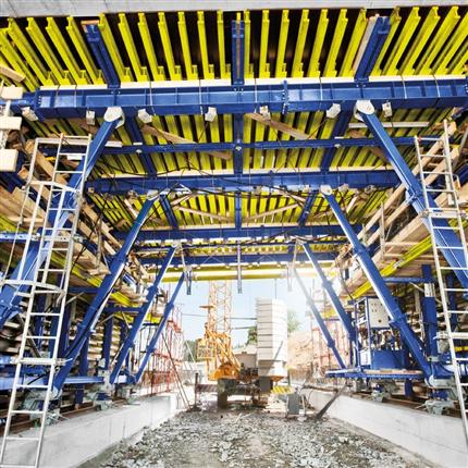 Moduluppbyggt Tunnelsystem, tunnelbyggnad i öppet schakt, reducerad matrialandel