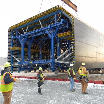 Stämptorn för tunnlar, minimla investeringskostnader, 2nd Midtown Tunnel, Virginia, USA
