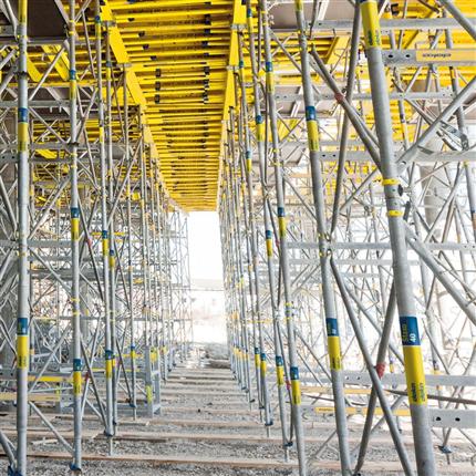 Stämptorn system för husbyggnad, hög säkerhet, stabila ramar av stål