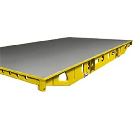 Skiva med förzinkad stålram, fastnitad skiva, snabb montering, handsystem utan balkar, valform