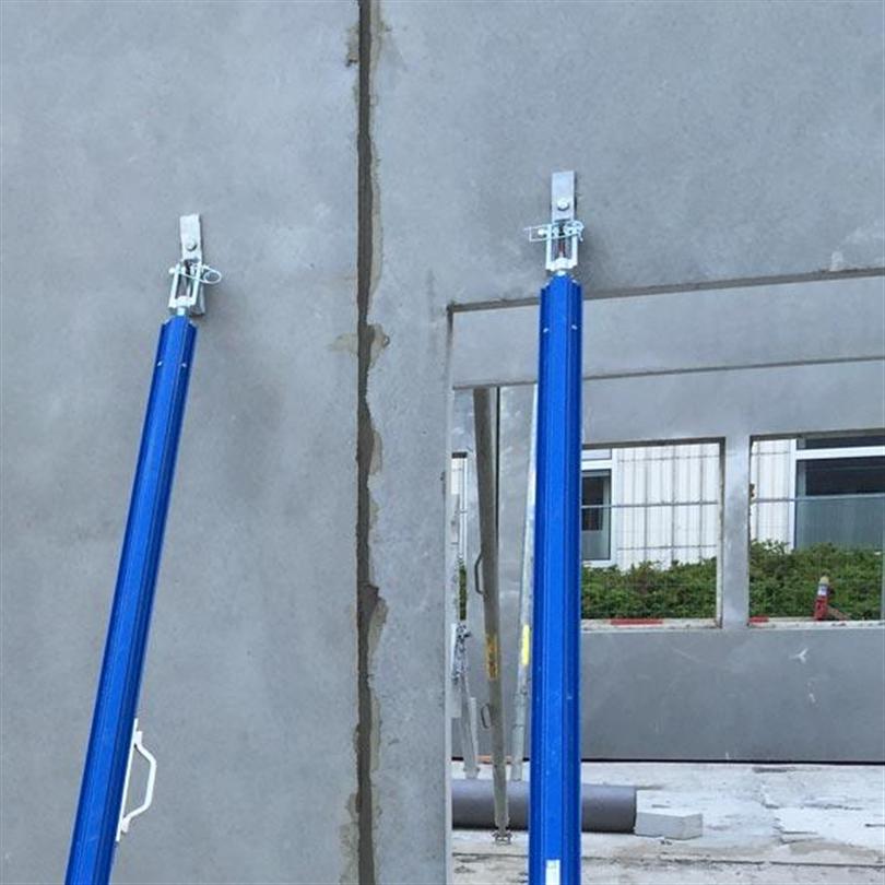 Justerbara väggstöd, aluminiumprofiler, invändig spindelgänga