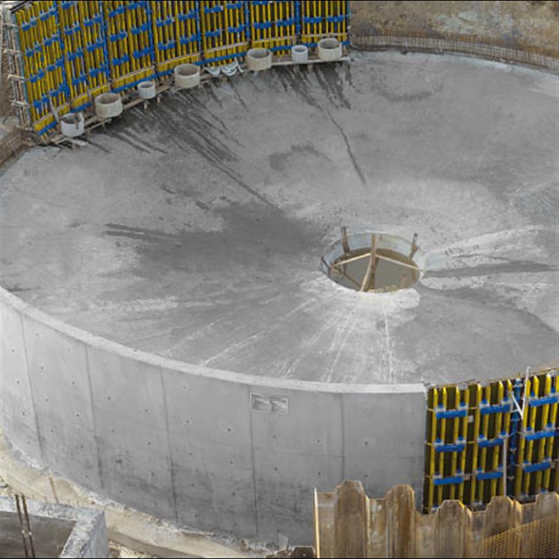 Rundformselement för exakta kurvor, rundform för släta och runda väggar
