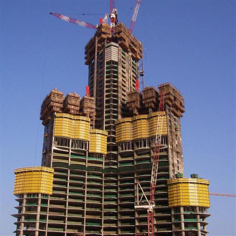 Ekonomisk klätterform, hög säkerhet, Burj Kahlifa, Förenade Arabemiraterna