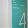 Swedsign AluLine skyltsystem Sharp