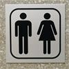 Swedsign symbolskyltar, toalettskylt P12-1