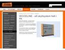 Swedsign WoodLine skyltsystem på webbplats