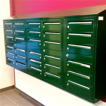 Swedsign SweBox G2 fastighetsboxar RAL grön
