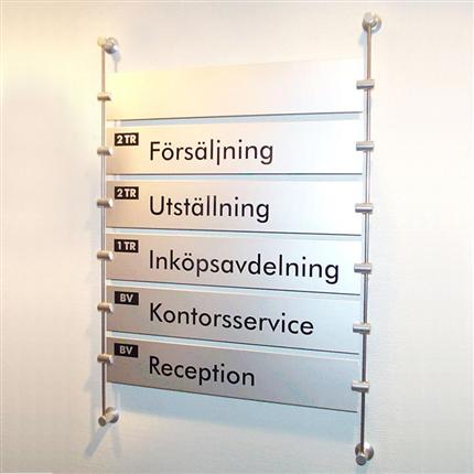 Swedsign MasterLine, våningstavla