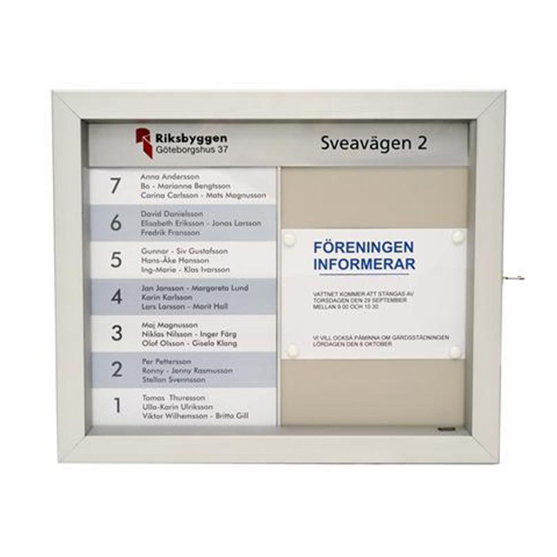 Swedsign Namntavlor/Hyresgästregister