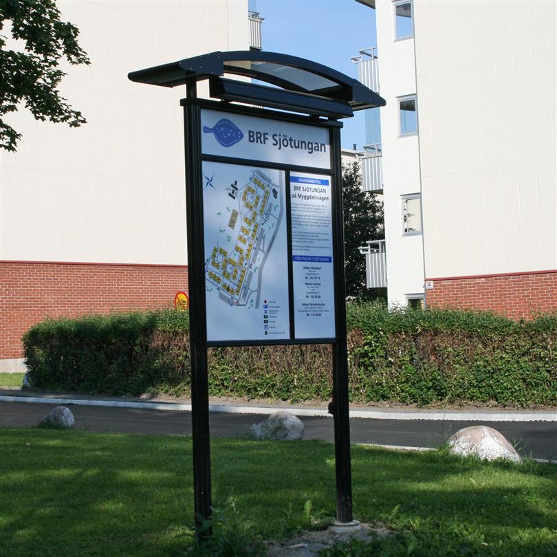 Swedsign City 90 Bowe informationstavlor