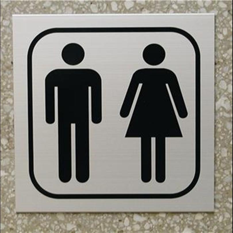Swedsign symbolskyltar/piktogram, toalettskylt herr/dam