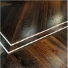 Aprobo Art Excellence massiva trägolv, svartek och aluminium