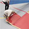 SpeedLock mobilt sportgolv med parkett eller pvc-matta
