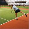 Konstgräs Tennisbeläggning