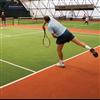 Unisport konstgräs för tennis