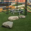 Unisport konstgräs landscaping, skolgård