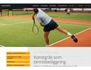 Konstgräs Tennisbeläggning på webbplats